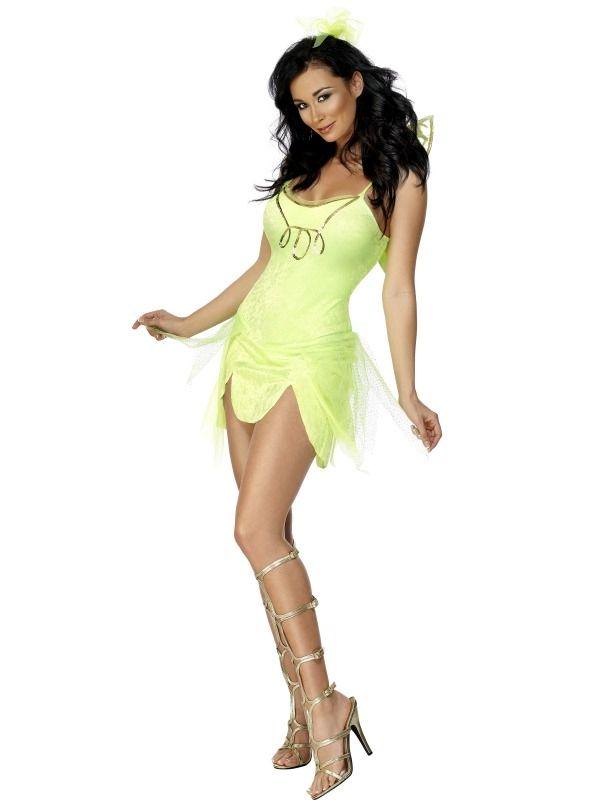 Fever Tinkerbell Fairy Fee Kostuum!