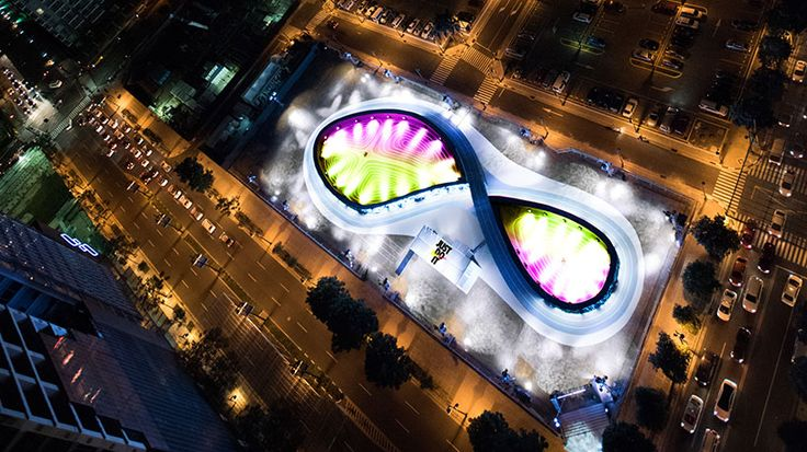 NIKE's unlimited stadium in manila is the 'world's first LED running track'