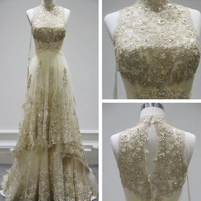 New Arrival Prom Dress,New design A-line lace long
