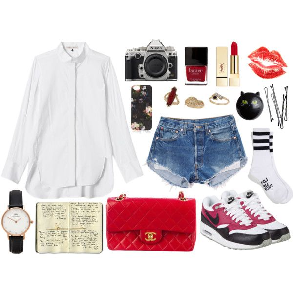 """Red"" by marindanp on Polyvore"