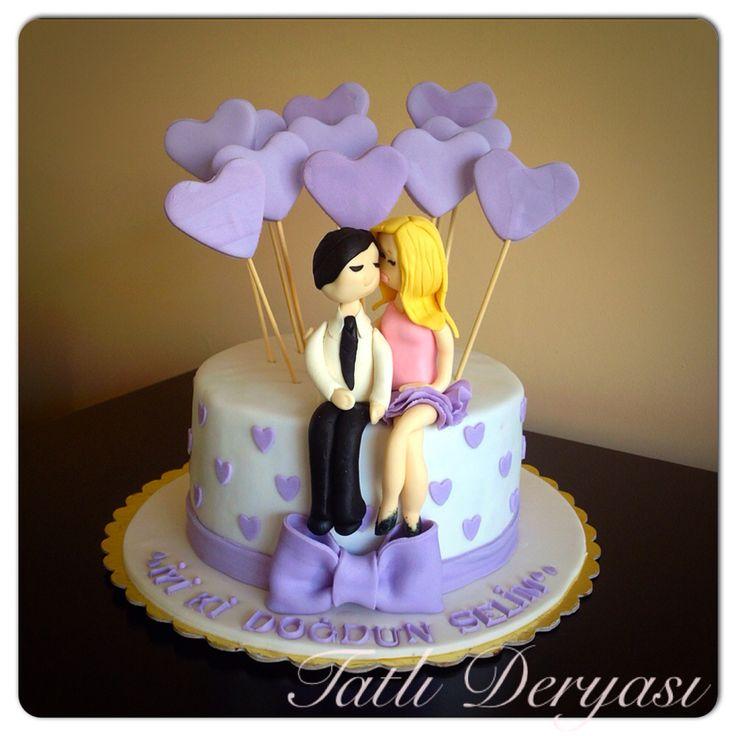 Cake/pasta/şeker hamuru/ doğum günü pastası