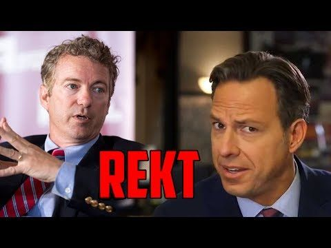 Rand Paul Slams Jake Tapper and Climate Alarmists on Doomsday Predictions!!!