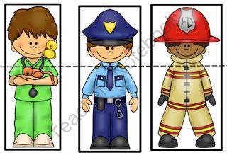 Preschool Printables: Helpers in our community