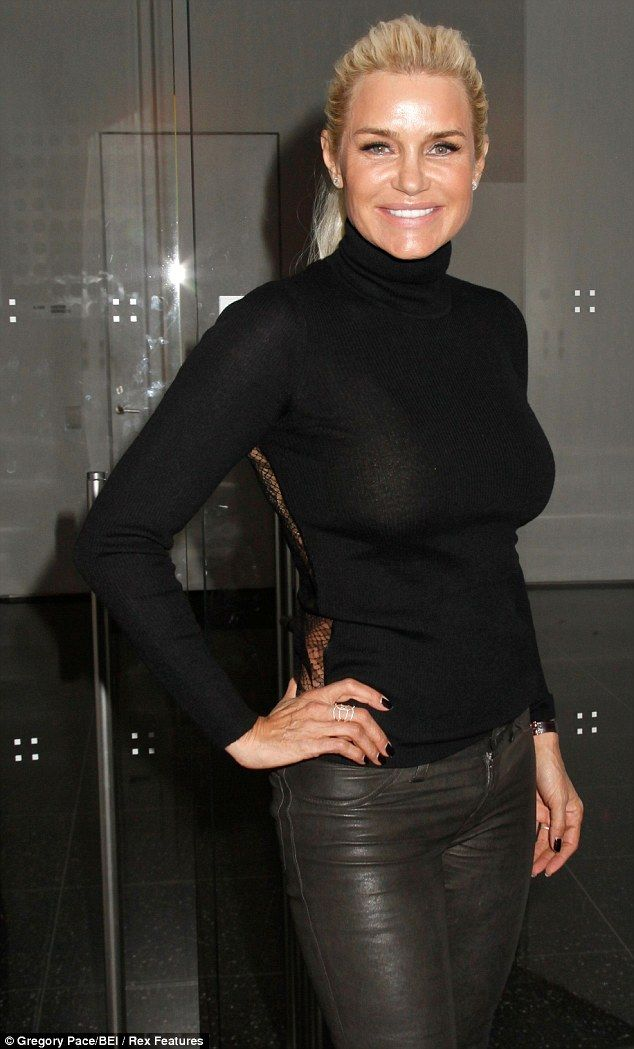 Keeping it real: Yolanda Foster, shown in April at a film premiere in New York City, joined The Real Housewives of Beverly Hills last November for its third season