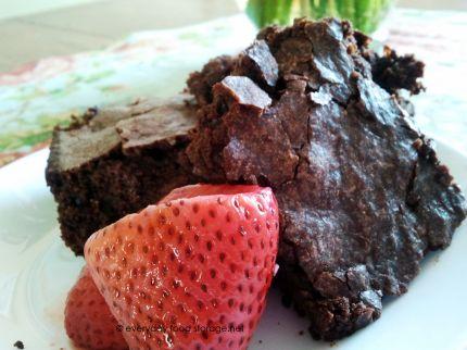 homemade fudge brownie mix