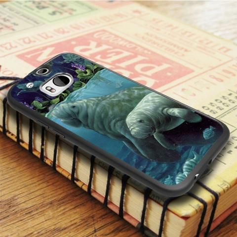 Manatees On Pinterest HTC One M8 Case