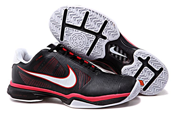Bue Cheap Nike Lunar Vapor 8 Tour Roger Federer 2012 429991 108 Black Red White . i like.50% off