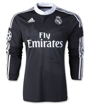 Camiseta Real Madrid tercera equipacion 2014/2015 ML