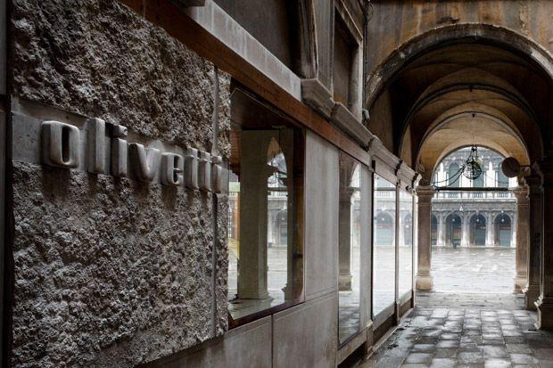 Carlo Scarpa's flagship store in Venice