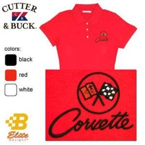 C2 Corvette Embroidered LLadies Cutter & Buck Ace Polo Black- BDC2EPL827 by Brickels. $58.95. The 1963-1967 model year Corvette is represented by the emblem on the Cutter & Buck Corvette polo shirt. This Corvette golf shirt is sure to be your favorite and is available in Black, Red, or White. The 1963-1967 model year Corvette is represented by the emblem on the Cutter & Buck Corvette polo shirt. This Corvette golf shirt is sure to be your favorite and is available...
