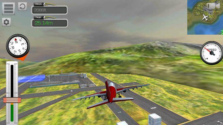 Flight Sim Passenger Plane – snímek obrazovky