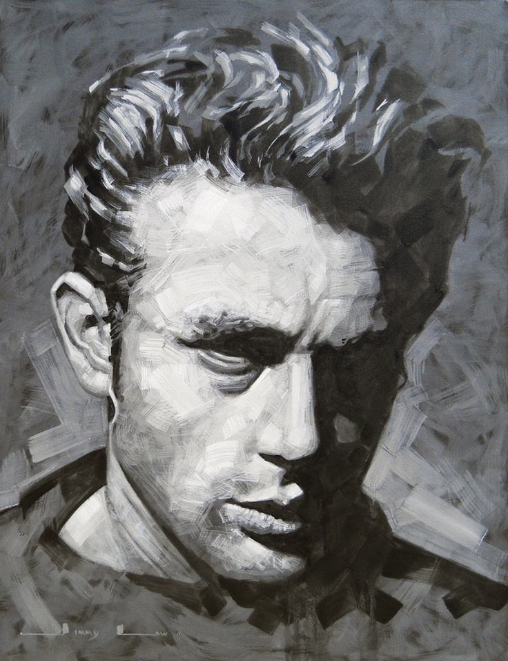 James Dean - Painting by Jimmy Law | StateoftheArt.co.za