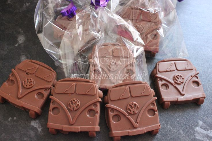 VW Campervan Chocolates - Wedding Favours
