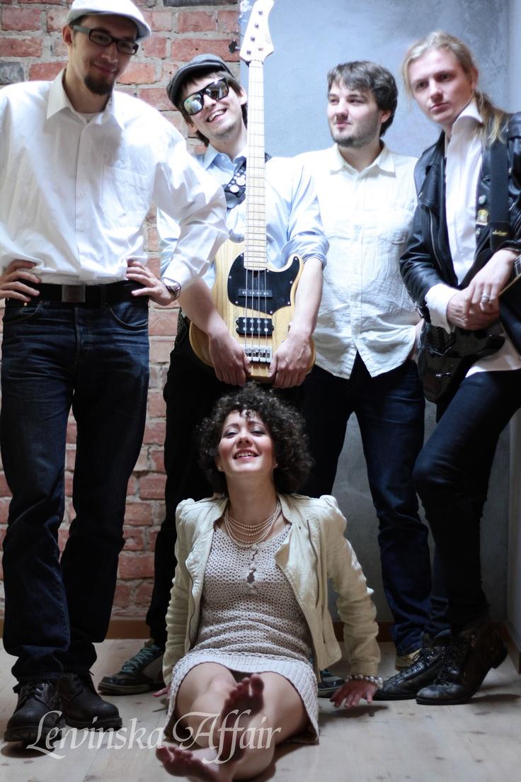 Our band - Marcin Lepka (piano), Wojtek Gil (bass), Marcin Krulikowski (drums), Michał Wojtyła (guitar), Kate Lewińska (vocals, lyrics)