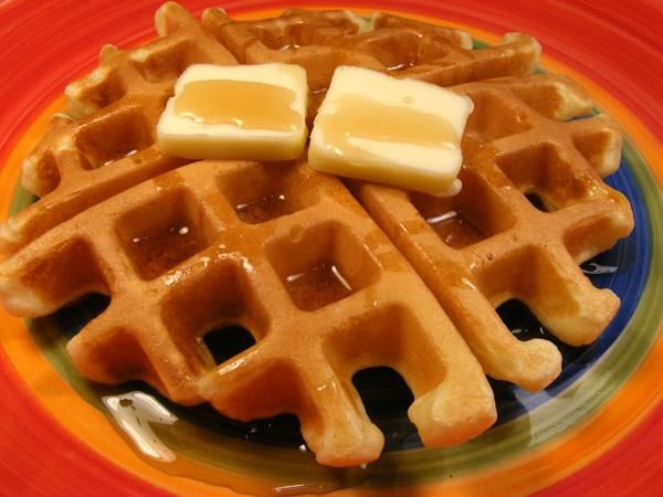 The best waffle recipe ever!