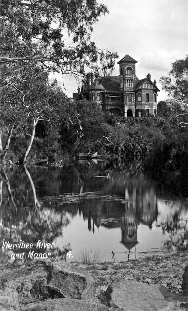Werribee Mansion, 1889. http://www.walkingmelbourne.com/