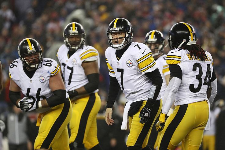 Most of the Pittsburgh Steelers stayed in their locker room as the national anthem played before agame in Chicago today after President Trump criticized NFL players for kneeling during the anthem.