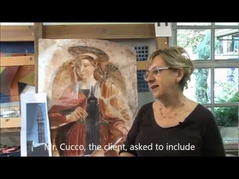Mosaic Techniques: DOUBLE REVERSE also called RAVENNA Method - YouTube