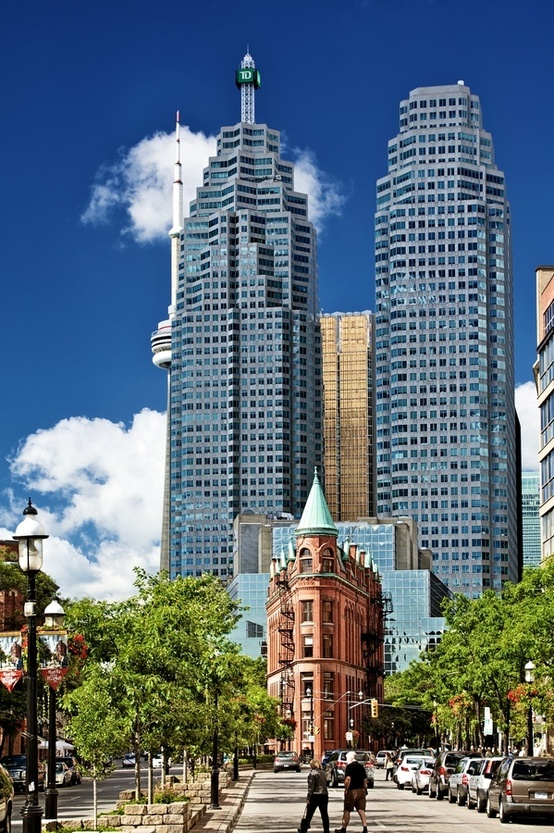 Downtown Toronto What a cool photo!!