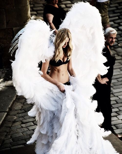 Angel Wings, the ultimate accessory. So why doesn't Victoria Secret sell them in the store!!