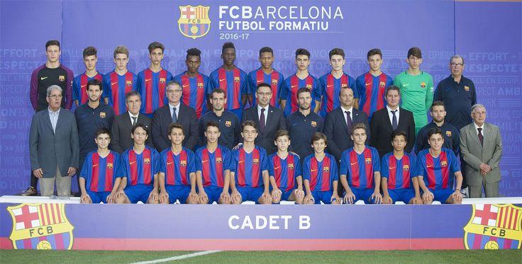 Todos los equipos de la cantera del FC Barcelona 2016-17