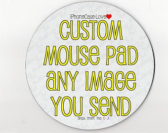 mouse pad / mousepad / custom mouse pad / custom mousepad / personalized mouse pad / personalized mousepad / round mouse pad /round mousepad
