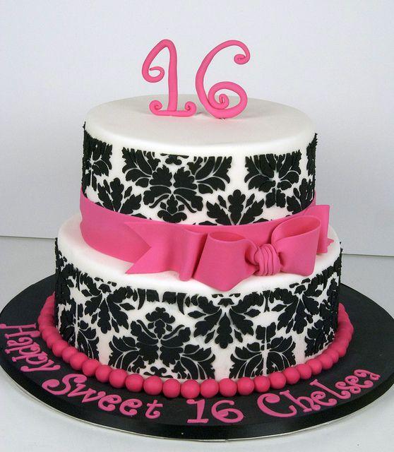 sweet 16 cake toronto by www.fortheloveofcake.ca, via Flickr