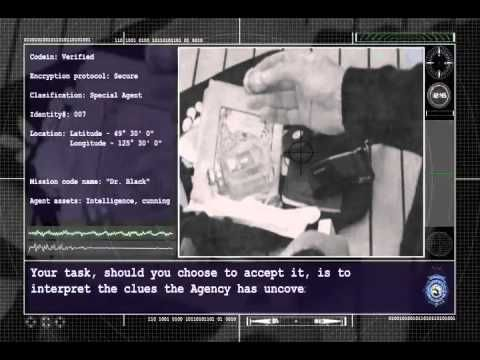 007 Secret Agent Mission Briefing - YouTube
