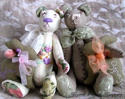 Teddy bears and bunnies