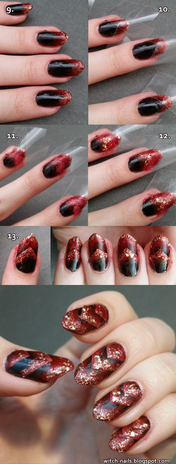 Dragon nails tutorial with step by step pictures!