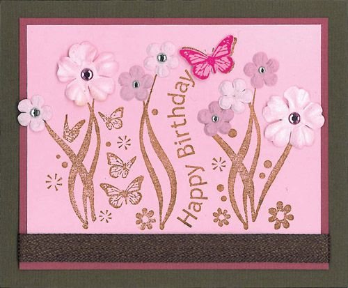 Stamp-it Australia: 4062F Garden Birthday - Card by Maria