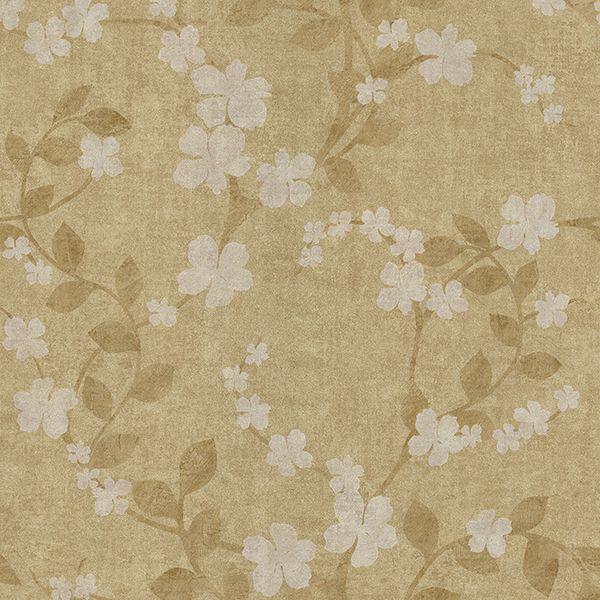 2686-58418 - Lilyanne Taupe Floral - by Brewster