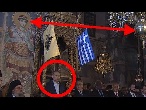 ПУТИНА благословили Императором МИРА на Афоне, Проповедь Путина 28.05.2016