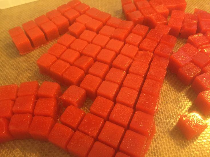 Homemade Cannabis Strawberry Chews - Like Medicated Starburst - by Papa Kief - Share this post - share the love! http://www.papakief.com/2016/01/strawberry-cannabis-chews.html