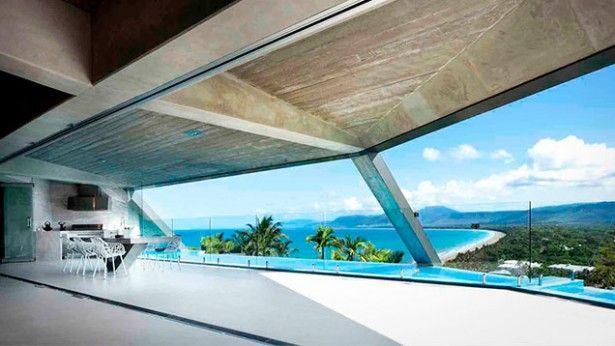 Architect Charles Wright ontwerpt huis met infinity pool én waanzinnig uitzicht
