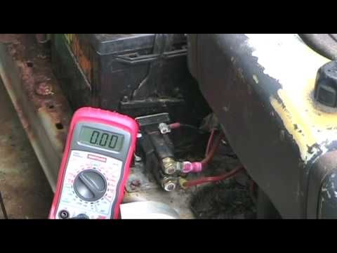 Lawn Tractor Starter Gear Repair with Briggs & Stratton Engine - YouTube