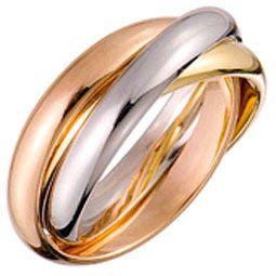 bijoux et pierres precieuses histoire de l 39 alliance 3 anneaux en trois ors de cartier jolis. Black Bedroom Furniture Sets. Home Design Ideas