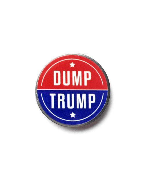 Dump Trump Lapel Pin