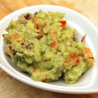 Guacamole (avokádókrém) recept