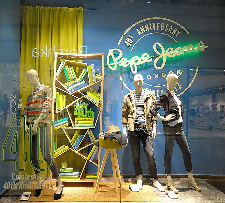 Pepe Jeans windows 2013, Budapest visual
