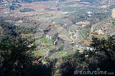 A view upon Ronda plains taken in december 2015 around Christmas time. It's a MUST VISIT place if you like to hike! Andalusia Spain