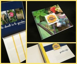 how to use a gardening journal