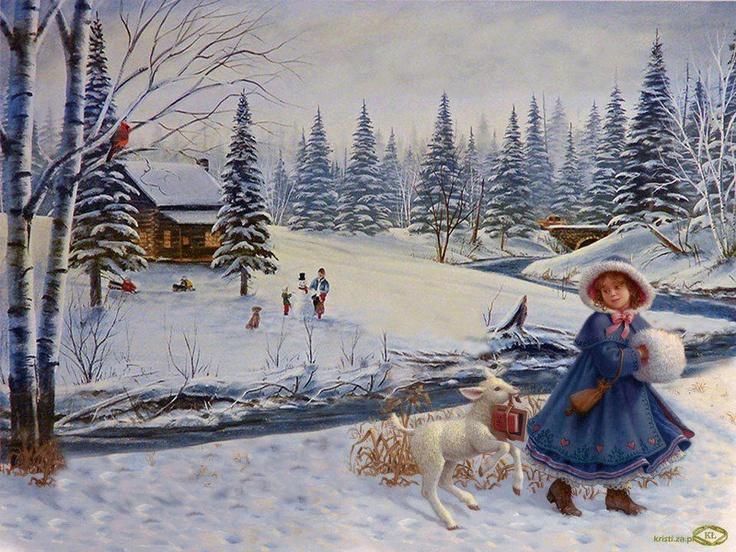 victorian christmas scenes - photo #47