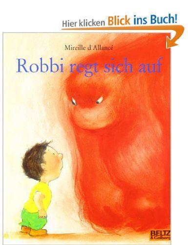 """Zum Abendessen steht Spinat auf dem Tisch. """"Geht's dir eigentlich noch gut?"""", fragt Robbi. """"Ab in dein Zimmer"""", sagt sein Vater. """"Wenn du dich abgeregt hast, kannst du wieder runterkommen."""" """"Ist mir doch egal"""", brummt Robbi. Als Robbi einmal ganz schlecht drauf ist, steigt ein schreckliches Ding in ihm hoch, ein Ding, das raus aus ihm will und dann alles umkrempelt."""
