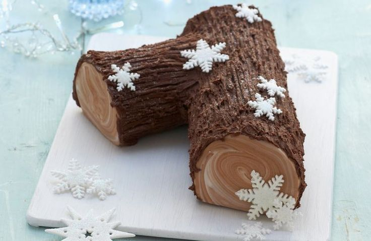 Easy to Make Showstopping Buche de Noel for your Christmas Table
