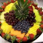 seasonal fruit trays