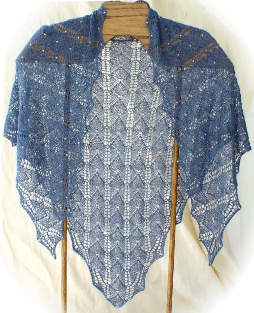 The Buffalo Wool Co.  - Beaded Lux Shawl (pattern by Jackie E-S), $5.00 (http://store.thebuffalowoolco.com/american-bison-yarns/knitting-patterns/beaded-lux-shawl-pattern-by-jackie-e-s/)