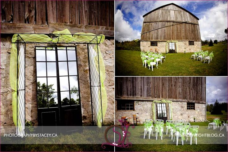 Loved the mirror against the barn wall.