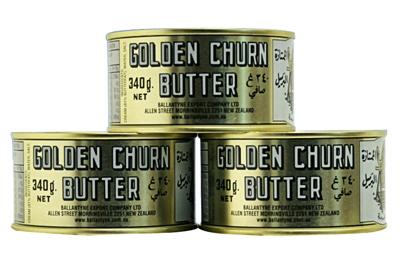 New Zealand Butter - Golden Churn - Pack of 3 http://www.shopnewzealand.co.nz/en/cp/New_Zealand_Butter