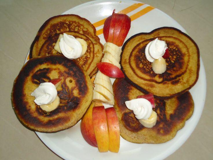 apple banana Pan Cake